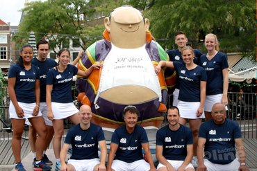 Haagse badmintonners nemen het op tegen Van Zijderveld