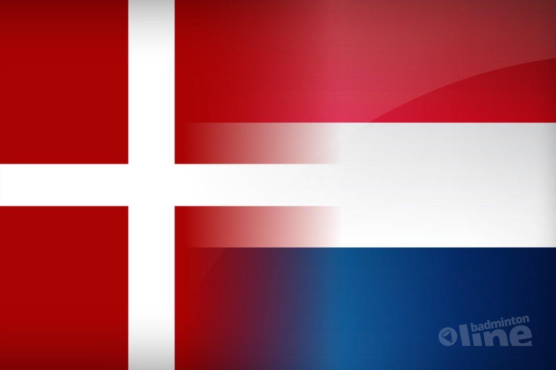 Denemarken versus Nederland