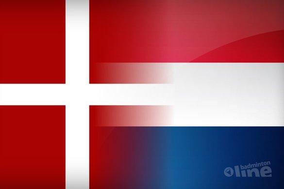 Denemarken versus Nederland - badmintonline.nl