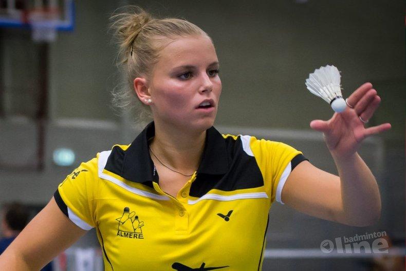Deze afbeelding hoort bij 'Tamara van der Hoeven U19-toernooiwinnares in Limburg' en is gemaakt door Edwin Sundermeijer