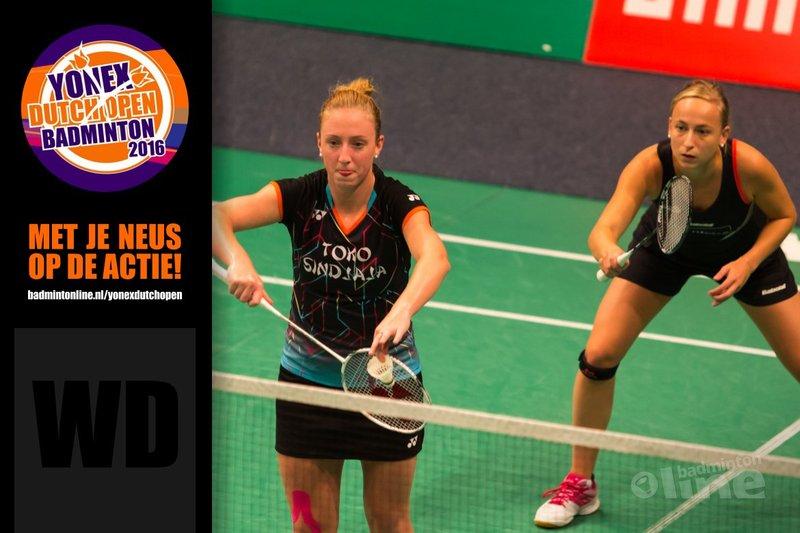 Dutch Open 2016: Eefje Muskens en Selena Piek favoriet - René Lagerwaard / badmintonline.nl