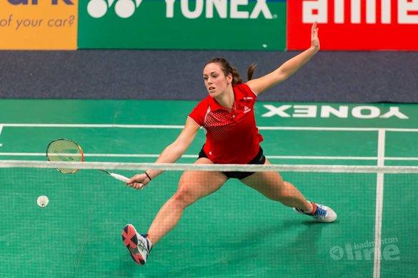 Denmark Open woensdag: de bovenbenen van Chloe Birch - René Lagerwaard