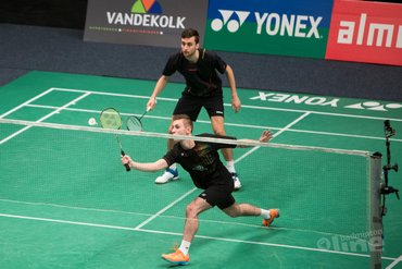 Dubbele dosis Jille: twee Nederlandse koppels naar kwartfinales Dutch Open