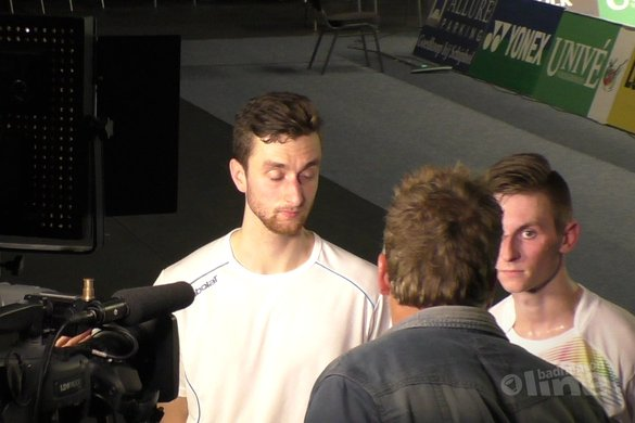 Halve finale Yonex Dutch Open eindstation voor Jacco Arends en Ruben Jille - badmintonline.nl