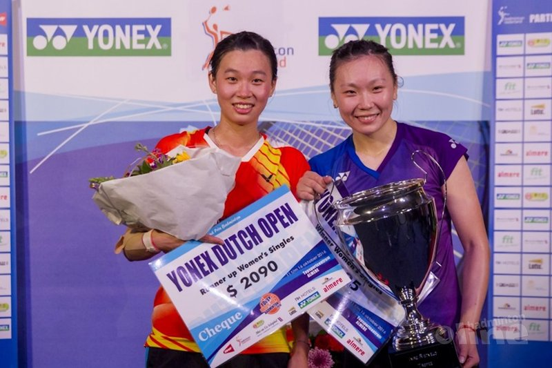 Tweede titel voor Zhang op Dutch Open 2016 - Alex van Zaanen
