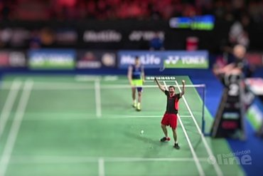 Denmark Open 2016: Brice Leverdez verslaat Lee Chong Wei