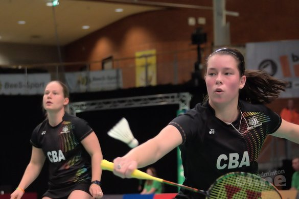 Iris Tabeling looking forward to the Bitburger Open - Alex van Zaanen