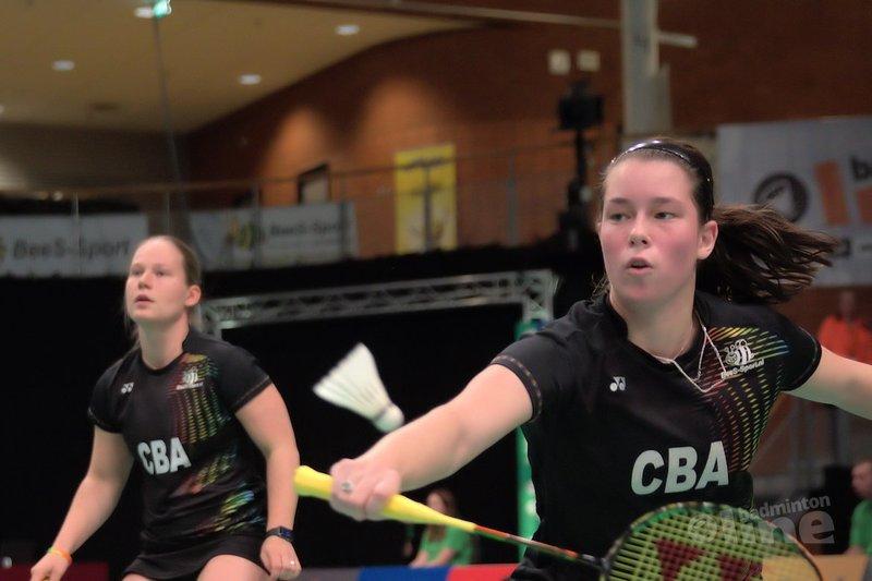 Cheryl Seinen en Iris Tabeling door naar halve finale Italian International - Alex van Zaanen