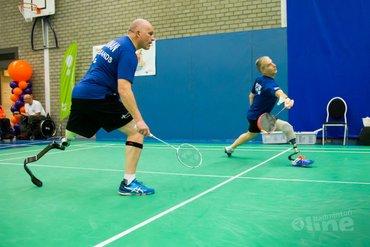 Oranje-equipe op medaillekoers EK Para-Badminton 2016