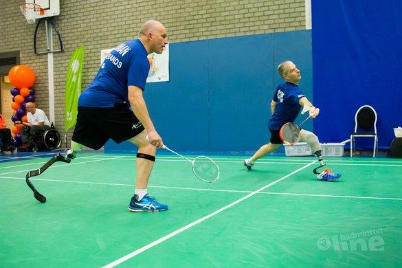 Oranje-equipe op medaillekoers EK Para-Badminton 2016 - Edwin Sundermeijer