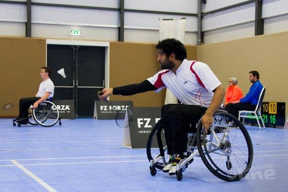 Verslag dag 2 Irish Para-Badminton International - Edwin Sundermeijer