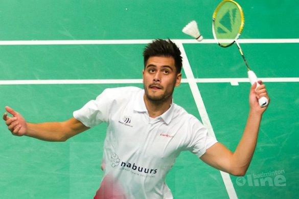 Nick Fransman uitgeschakeld bij EK badminton - René Lagerwaard