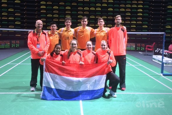 Mooie tweede plaats in poule voor U19-team na winst op Finland en Bulgarije! - Ger Tabeling