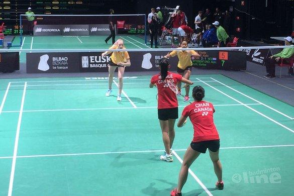 Jong Oranje 20e op Wereld Jeugdkampioenschappen Badminton in Spanje - Badminton Nederland