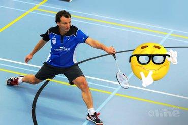 Waarom badmintonnen we? Voor ons plezier!