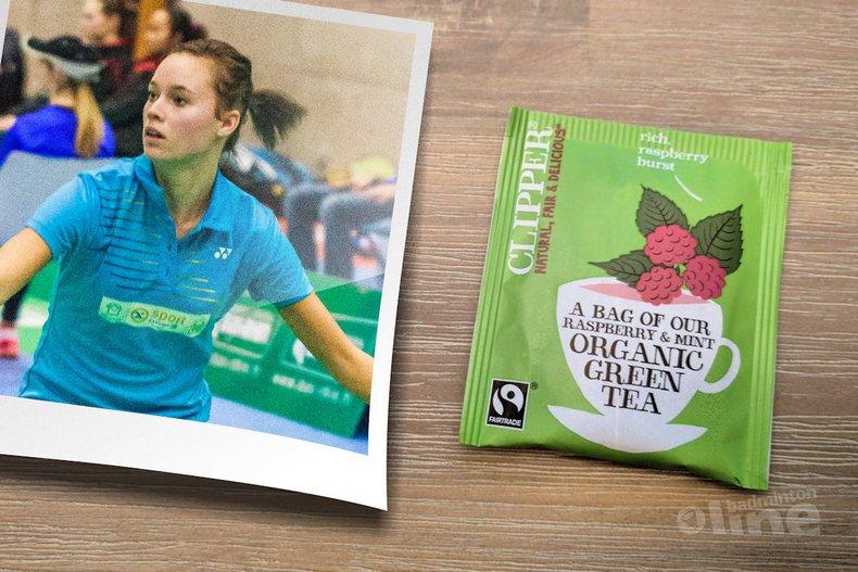 Deze afbeelding hoort bij 'Soraya de Visch Eijbergen verrast niet in Ierland: par for the course' en is gemaakt door Ehret Frederic (bad-photos.fr) / badmintonline.nl