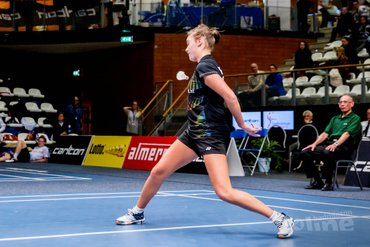 Three strikes and you're out: Soraya de Visch Eijbergen exits Finnish International in first round