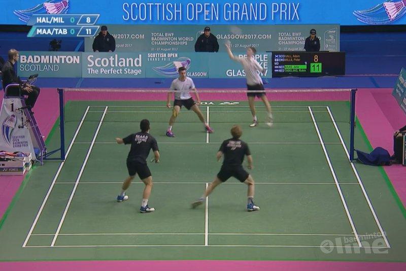 Jelle Maas en Robin Tabeling komen tot halve finales Scottish Open - Badminton Europe