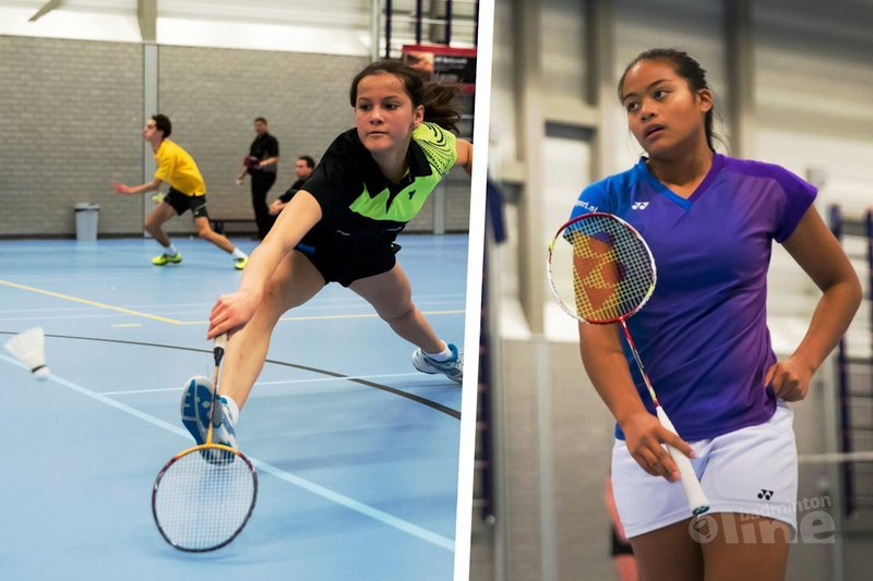 14-jarige Daphne Jansen verslaat 16-jarige eredivisiespeler Alyssa Tirtosentono in twee games tijdens RSK-finale - Alex van Zaanen