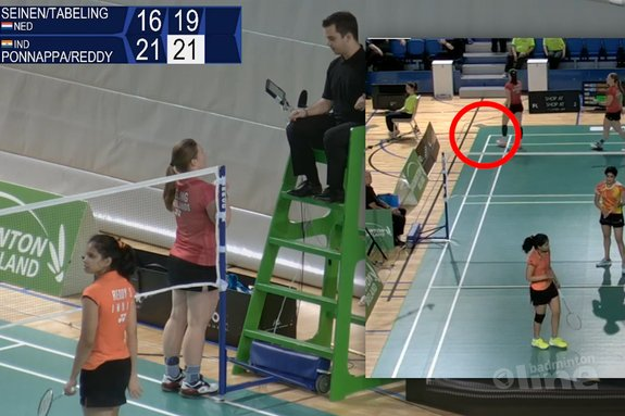 Irish Tabeling unhappy with line-call that might have cost her semi-final in Dublin - Badminton Europe / badmintonline.nl