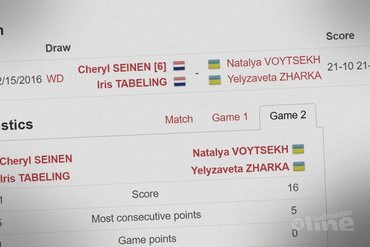 Halve finales Italian International 2016 eindstation voor Cheryl Seinen en Iris Tabeling