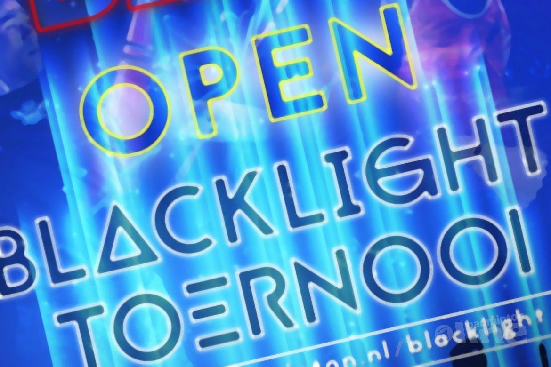 Recreatief blacklight badmintontoernooi in Amersfoort