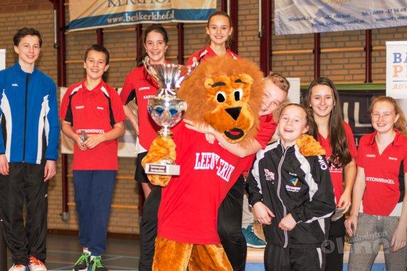 Ruim 125 spelers voltooien Start-Best jeugdtoernooi Alouette - BC Alouette