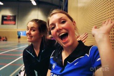 Team 6 van BC Hillegom praat fans bij in badmintonvlog