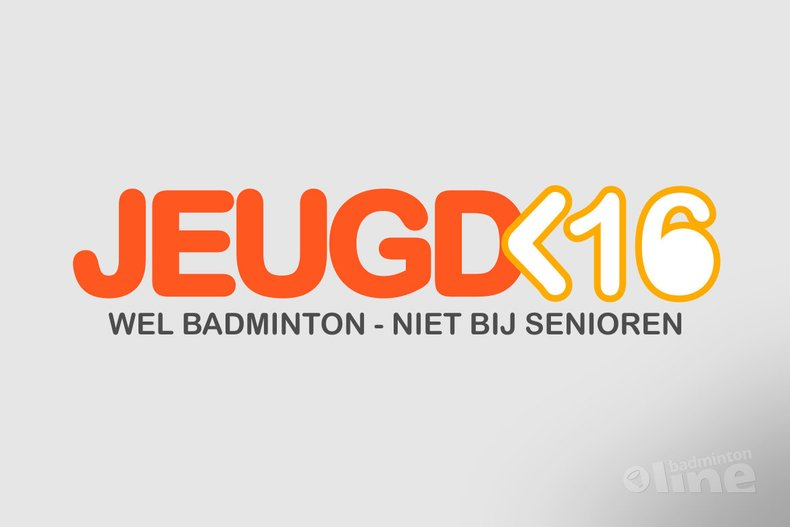 Deze afbeelding hoort bij 'Minimumleeftijd voor seniorencompetitie: pas vanaf 16 jaar' en is gemaakt door badmintonline.nl