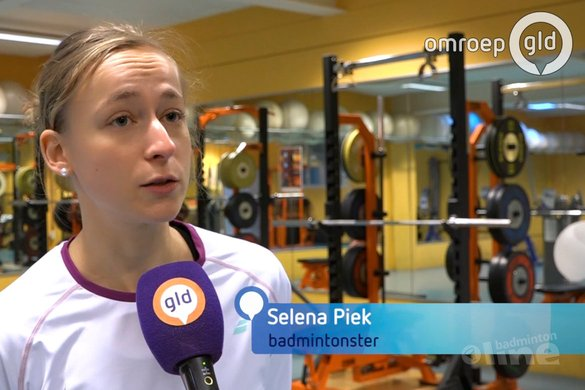 Overbelaste topbadmintonster Selena Piek betaalt hoge prijs: ik was te naïef en ongeduldig - Omroep Gelderland