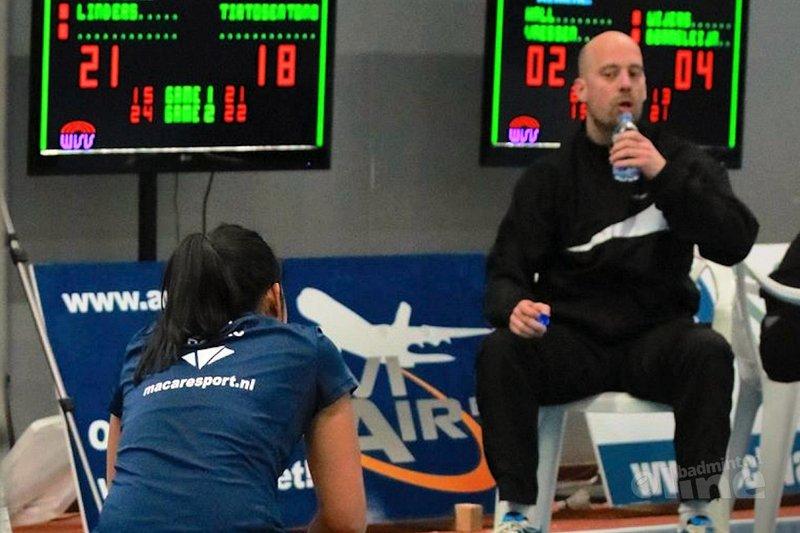 Wat moet Madouc Linders nu denken van Badminton Nederland talentcoach Robbert de Keijzer? - Nicoline Heekelaar