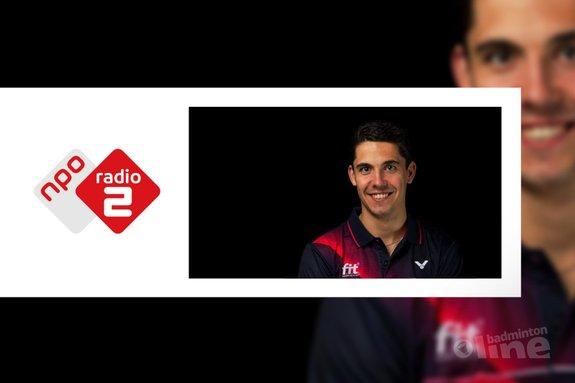 Nederlands Kampioen badminton Erik Meijs smasht harder dan de Thalys rijdt! - René Lagerwaard / badmintonline.nl