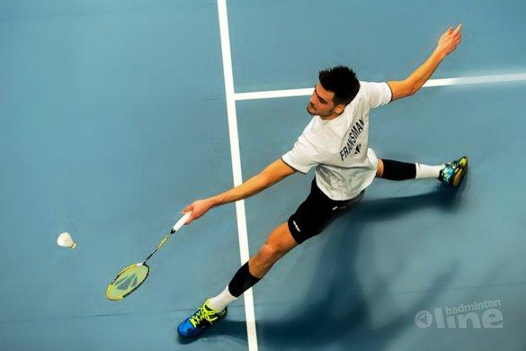 Nick Fransman moeizaam naar halve finales op Carlton NK Badminton 2017 - René Lagerwaard