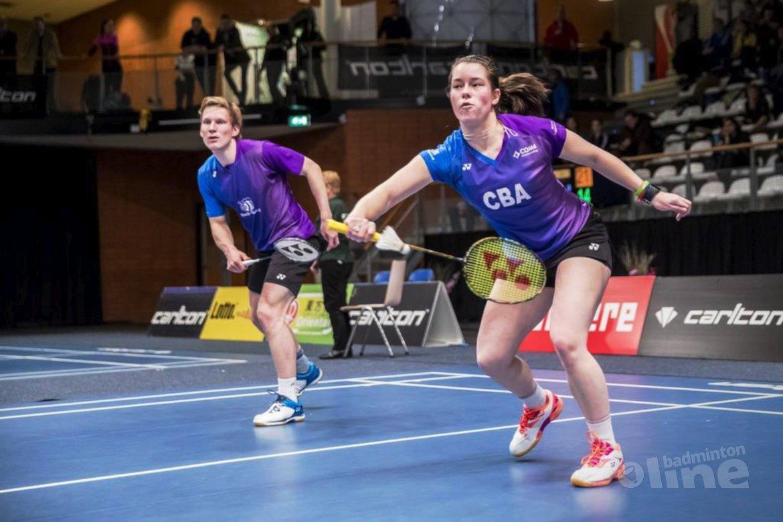 Titelfavorieten op dreef bij Carlton NK Badminton 2017