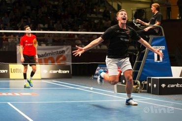 Mark Caljouw en Gayle Mahulette pakken titels op Carlton NK Badminton 2017