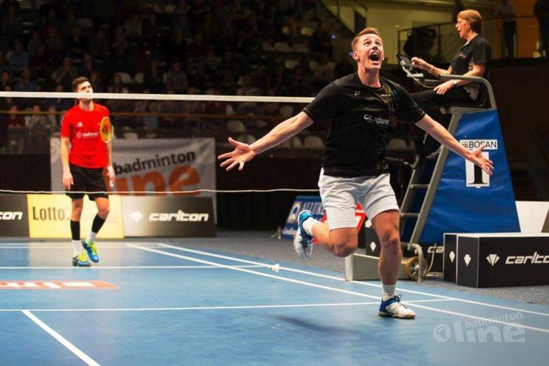 Mark Caljouw en Gayle Mahulette pakken titels op Carlton NK Badminton 2017 - René Lagerwaard