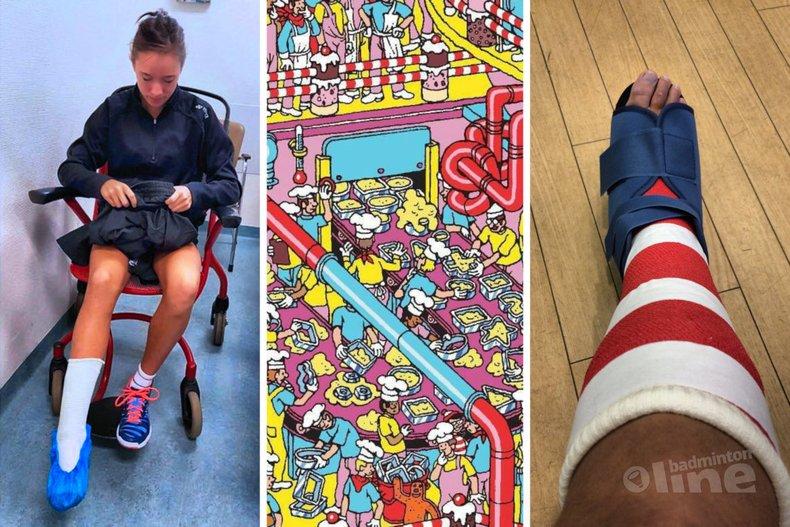 Deze afbeelding hoort bij 'Soraya de Visch Eijbergen: out for 8-12 weeks with torn ankle ligament' en is gemaakt door Soraya de Visch Eijbergen