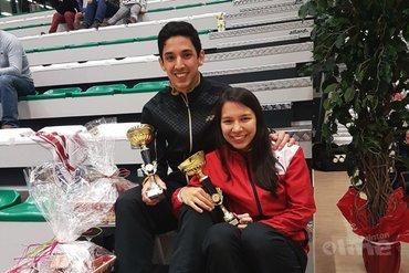 Yuhan en Lianne Tan verlengen titel op BK badminton