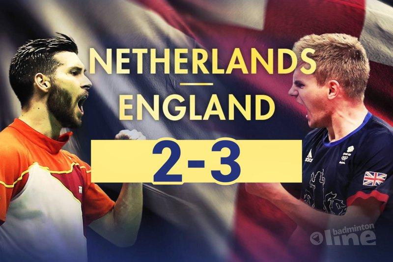 Oranje verliest kwartfinale EK gemengde teams van Engeland - Badminton Europe / badmintonline.nl