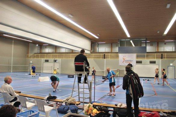 Carlton NVK 2017 met een echte veteraan - Badminton Nederland