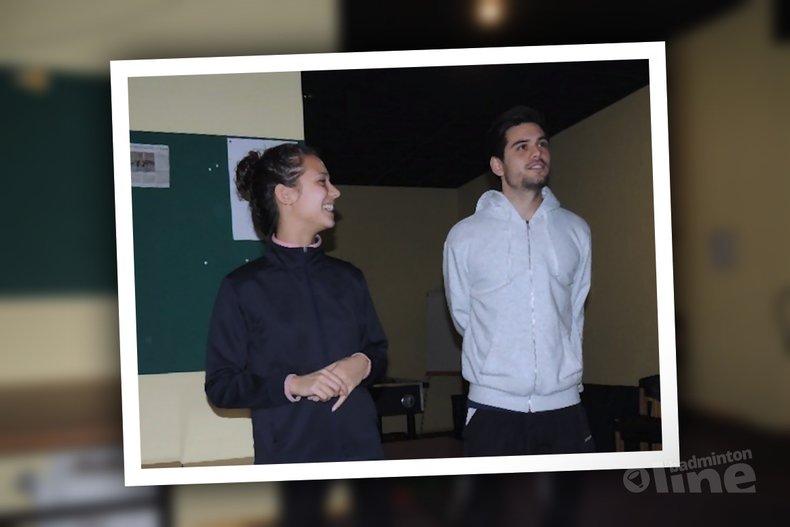 Deze afbeelding hoort bij 'Nick Fransman en Manon Sibbald pakken titel in Amersfoort' en is gemaakt door BC Amersfoort