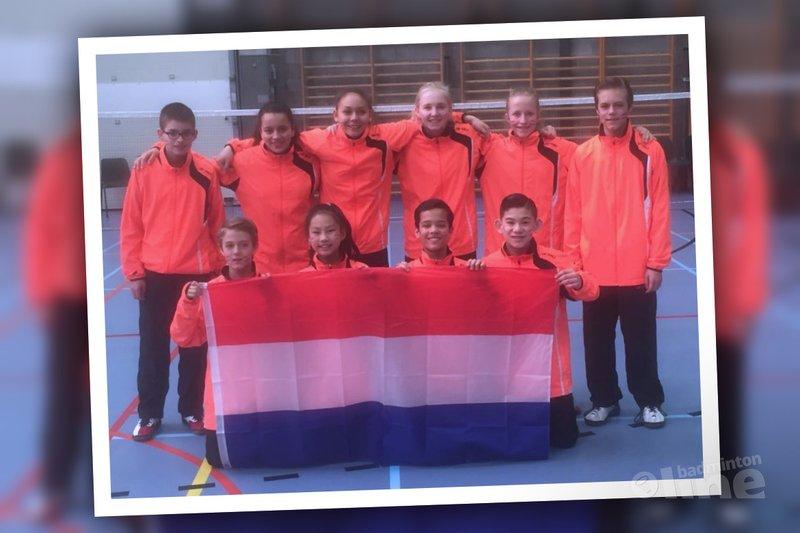 Nederlands jeugdteam U15 speelt 8 Nations U15 in België - Badminton Nederland