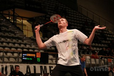 Mark Caljouw through to second round of Canada Open Grand Prix