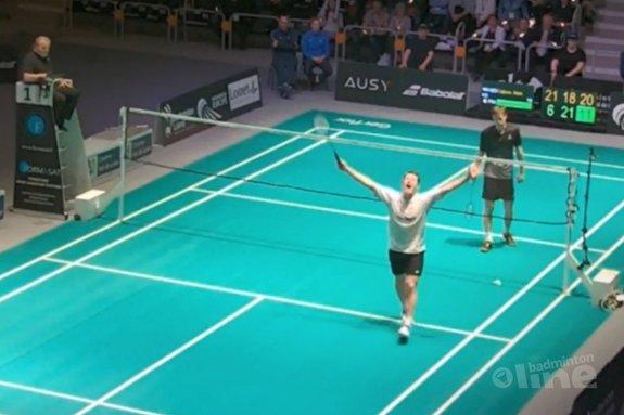 Deze afbeelding hoort bij 'Mark Caljouw wint Orleans International 2017' en is gemaakt door badmintonline.nl