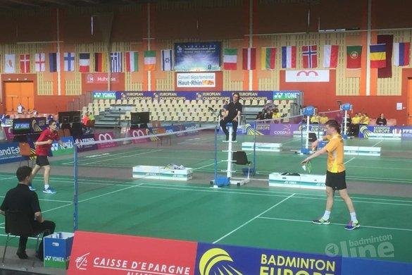 EJK 2017: Nederland wint van regerend kampioen Spanje - Badminton Nederland