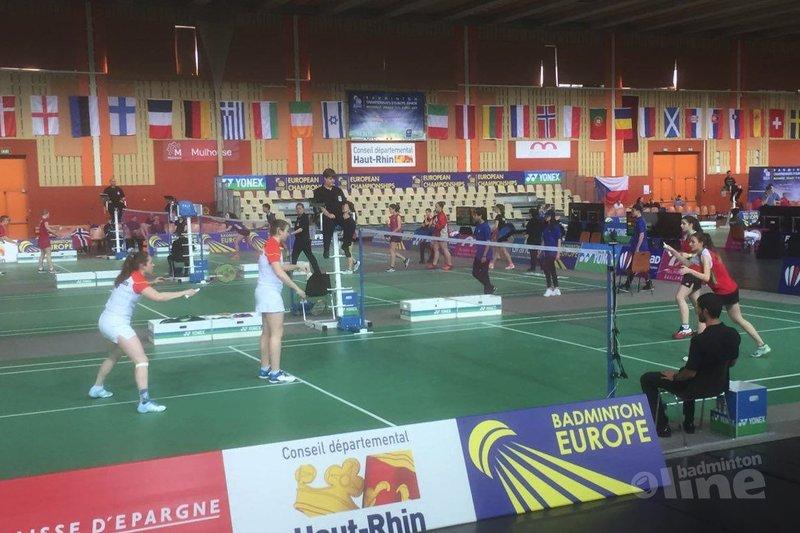 EJK 2017: Oranje-kids in kwartfinale tegen Rusland - Badminton Nederland