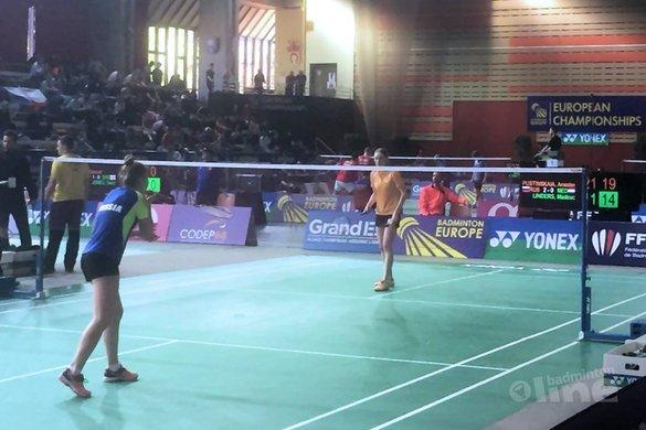 EJK 2017: Kwartfinales eindstation Nederland U19 - Badminton Nederland