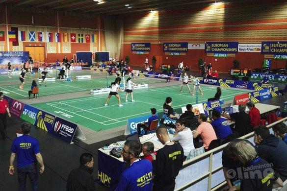 EJK Individueel 2017: Nederlanders in actie - Badminton Nederland