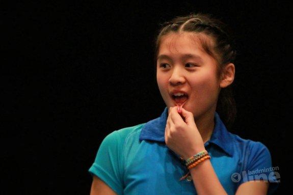 Deze afbeelding hoort bij 'Individuele toernooi 6 nations test incasseringsvermogen Nederlandse jeugdselectie: Amy Tan als lichtpunt' en is gemaakt door Jos van den Einde