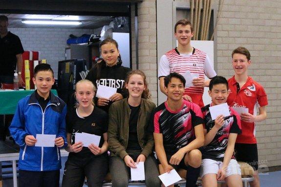 Deze afbeelding hoort bij 'Mara Lemmens en Youri Panhuis winnaars Junior Master in Spijkenisse' en is gemaakt door BCRS